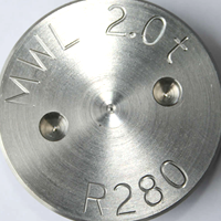 Stainless Steel cap with engraving