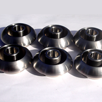 CNC Machined Stainless steel vent ports for hot rods and custom vehicles
