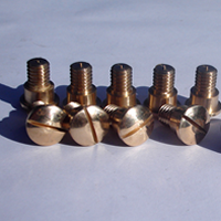 CNC Machined Brass fasteners